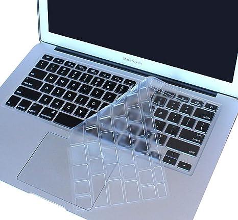 ultraplana de Silicona Transparente Cubierta para Teclado de sobremesa