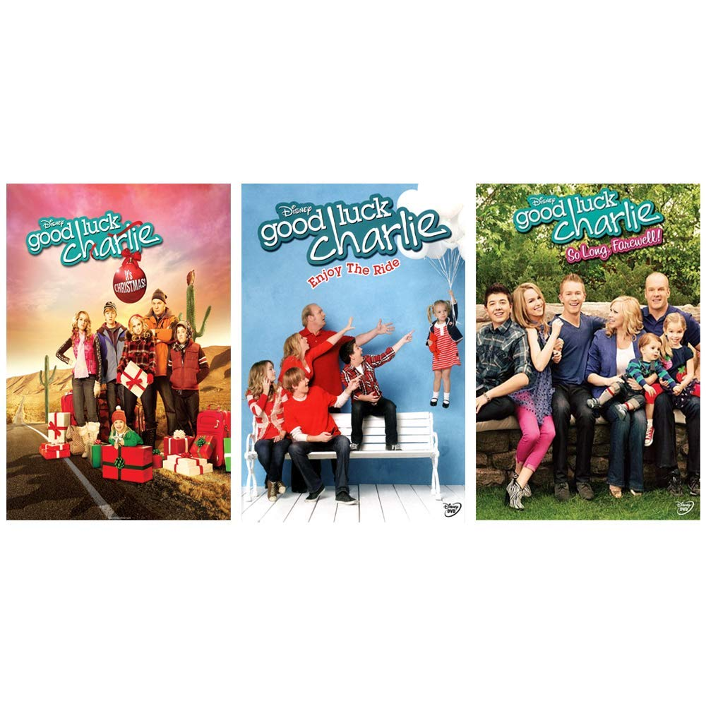 Good Luck Charlie: Disney TV Series 12 Episodes + Christmas Movie DVD Collection