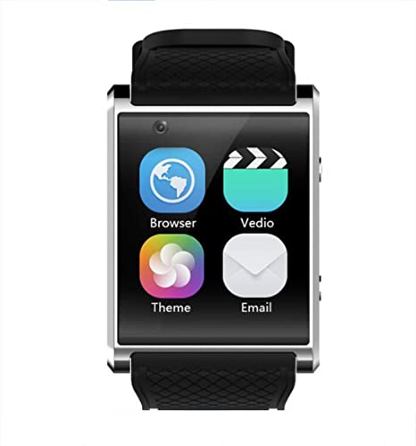 Reloj Inteligente Android Reloj Inteligente GPS SOS Pantalla Táctil Capacitiva 3G Reloj Inteligente Independiente Tarjeta Podómetro