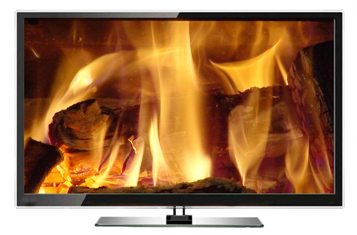 Fuoco DVD - Caminetto TV Jukebox - scegliere su 9 incendi con i ...