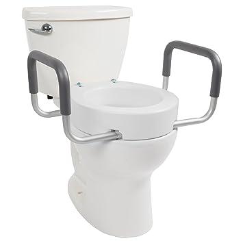 Amazon.com: Toilet Seat Riser by Vive - Raised Toilet Seat with ...
