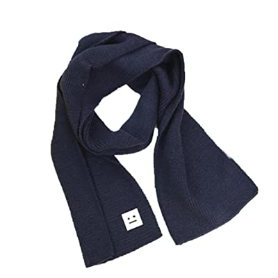Suit for 2-10 Years old,DIGOOD Boys Girls Winter Keep Warm Knitted Cotton Smile O-Ring Neck Scarf