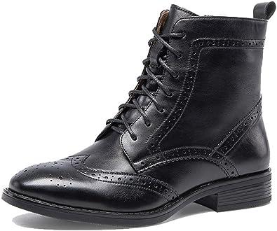 black wingtip boots