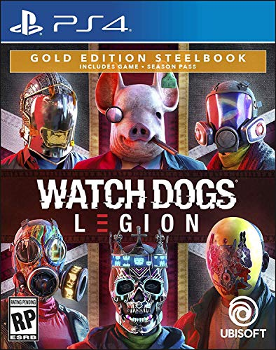 Watch Dogs Legion - PlayStation 4 Gold Steelbook Edition (Watch Dogs Game Video)