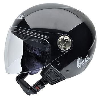 NZI 050259G003 Helix IV BTN Casco de Moto, con Bluetooth, Talla L