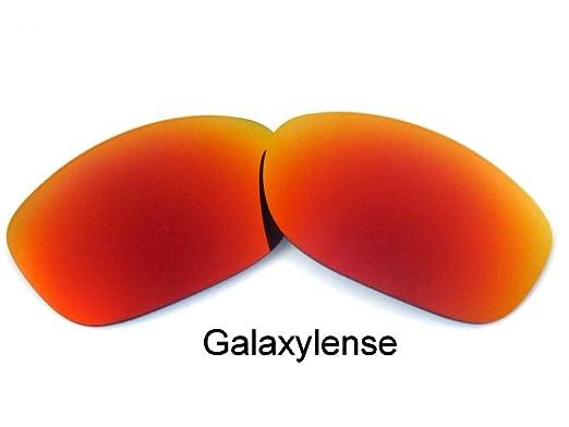 1c2a5e77e5 Galaxy lentes de repuesto para Oakley Pit Bull Rojo Intenso Color  Polarizados