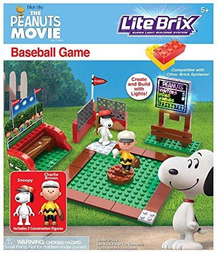 Cra Z Art Peanuts Baseball Construction Building
