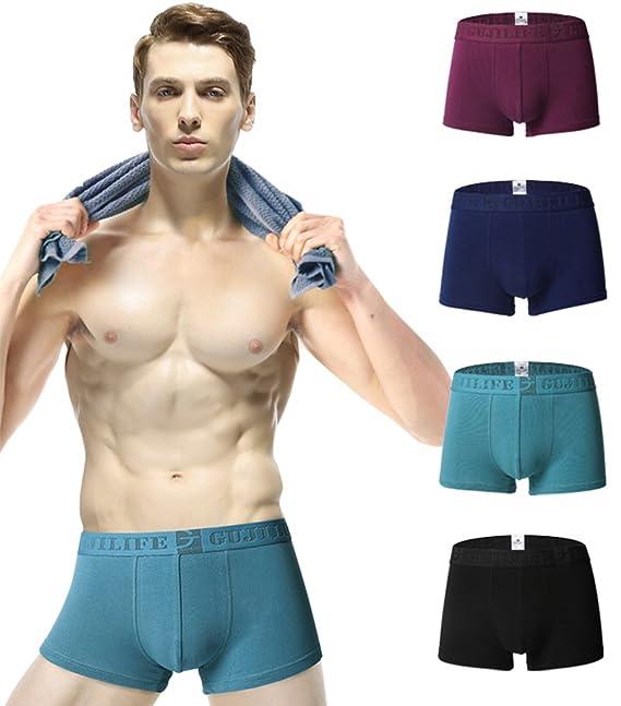 Gfirmament Slips Hombre Pack Slips para Hombre Boxer de Algodón Elástico para Hombre h8Hkhx