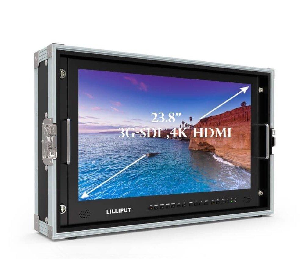 LILLIPUT BM230-4K 23.8 Inch 4K (38402160) Ultra-HD Resolution Broadcast Field Monitor