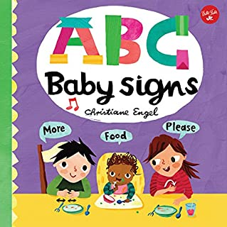 Book Cover: ABC for Me: ABC Baby Signs: Learn baby sign language while you practice your ABCs!