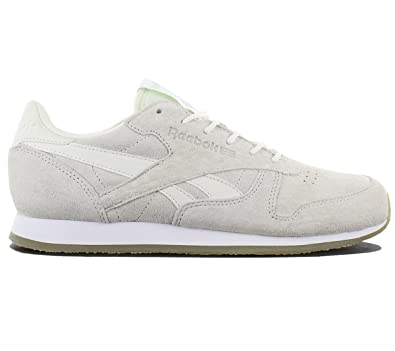 Crepe Classic Leather Away Fashion Sail Reebok Damen Grau Schuhe D2I9HE