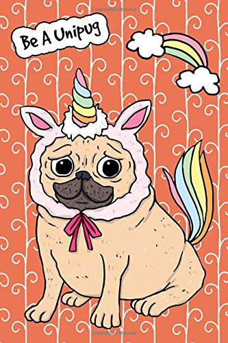 Download Journal Notebook For Dog Lovers Funny Unicorn Pug 5: Blank Journal To Write In, Unlined For Journaling, Writing, Planning and Doodling, For Women, ... Carry Size. (Handy Plain Journal) (Volume 10) pdf epub