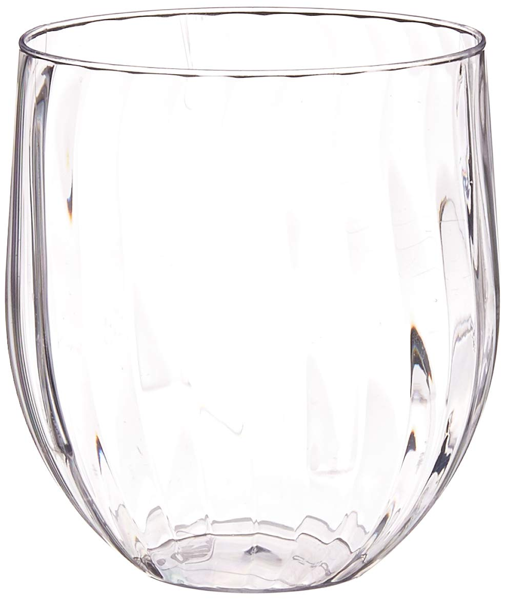 Amazon Com Chinet Cut Crystal Wine Glass 15 Oz 8 Ct Health