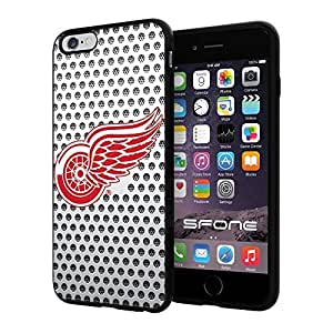 Detroit Red Wings White Net #2211 iphone 6 4.7) I+ Case Protection Scratch Proof Soft Case Cover Protector