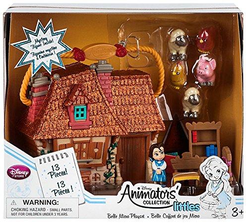 Collection officielle de Disney Beauty & The Beast Belle Collection d'animateurs Micro Playset
