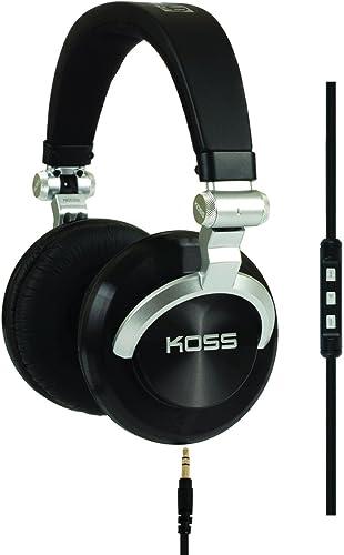 Koss ProDj200 Studio Headphone – Black Silver