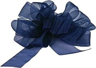 "product image for Offray Berwick LLC 424292 Berwick Simply Sheer Asiana Ribbon -5/8"" W X 25 yd - Royal Ribbon"