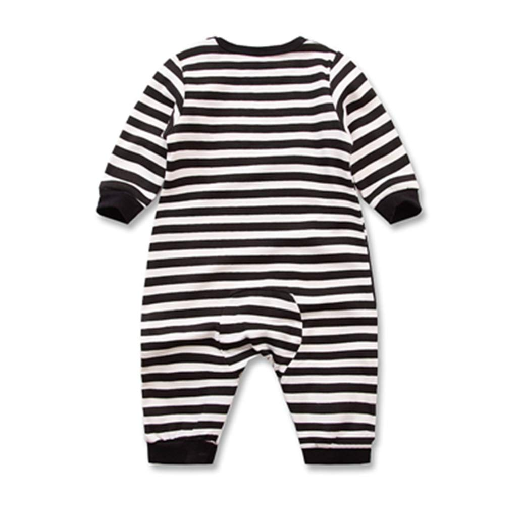 Spring Autumn Long Sleeved Romper Baby Clothes Childrens Clothes Cartoon Penguin Baby Animal Girl Jumpsuit Romper 5,3M