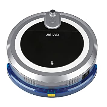 Jisiwei i3 - Robot Aspirador Controle por Movil localización visual (Camara HD, 600ML Capacidad