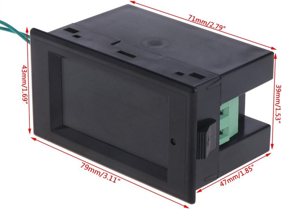 Sidougeri AC 80-300 V Voltm/ètre Amp/èrem/ètre Puissance Amp/èrem/ètre Volt Amp Puissance KWh Compteur 100A CT
