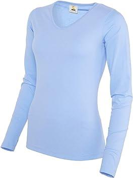 BRDS 6022027744 Classic - Camiseta de manga larga para mujer ...