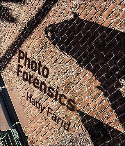 Photo Forensics por Hany Farid