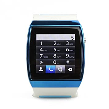 HI de Watch Bluetooth Smart Watch Reloj de pulsera handyuhr de 1,55 pulgadas Watch Phone para smartphones iOS/Android L15-Schwarz: Amazon.es: Informática