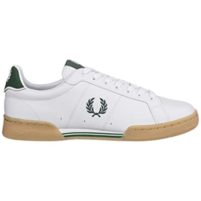 Fred Perry Sneakers b722 Uomo White: Amazon.it: Scarpe e borse