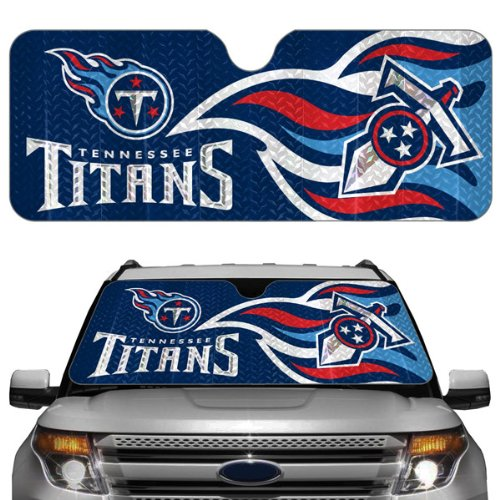 NFL Tennessee Titans Auto Sun Shade (Sunshade Car Team)