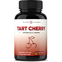 Organic Tart Cherry Concentrate - 1000mg Premium Uric Acid Cleanse Supplement -...