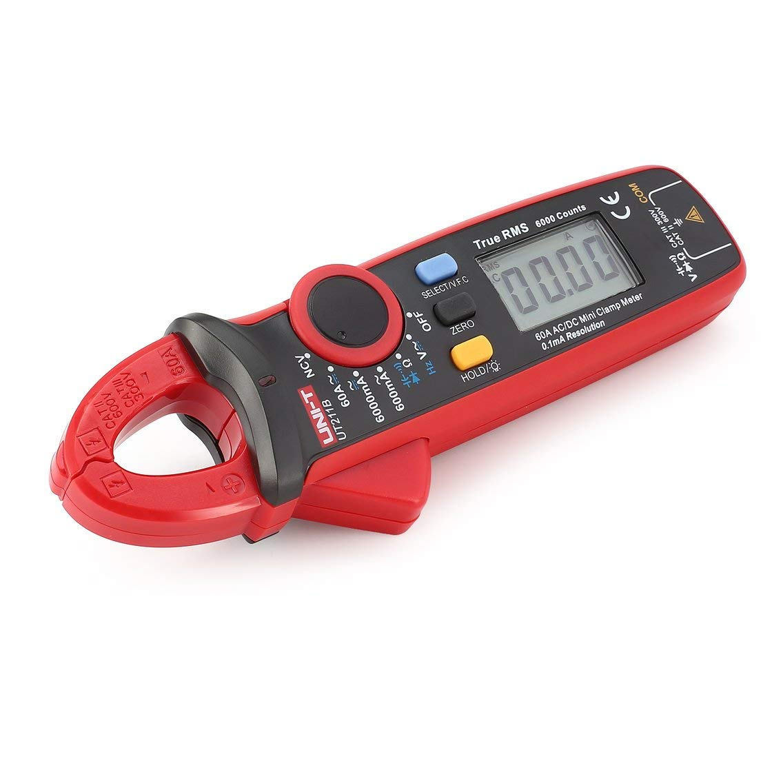 UNI-T UT211B Mini Digital Clamp Meter Multimeter True RMS Alta Resolució n AC/DC Volt Amp Ohm Capacitancy Diode Tester Laurelmartina
