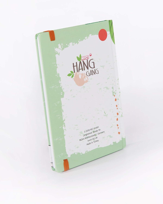 NICI 43481 Bloc de Notes Vert