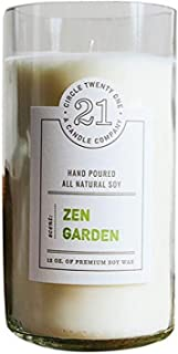 product image for Circle 21 Candles Zen Garden Scented Soy Candle, Clear