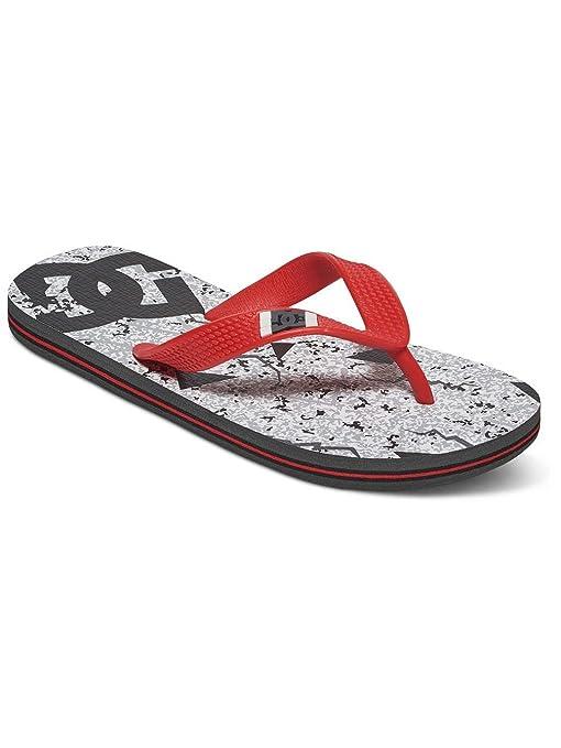 pacchetto alla moda e attraente fornire un sacco di sfumature di DC Shoes Infradito Bambina, Grigio (Gris - Grey/Black/Red ...