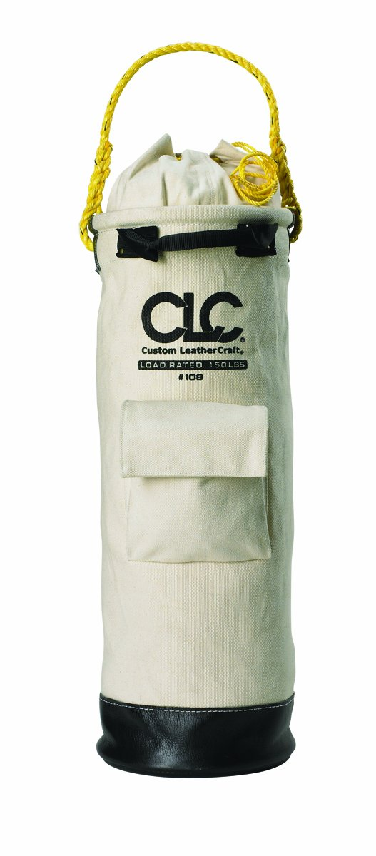 CLC Custom Leathercraft 108 Canvas Bucket, 10-Inch By 30-Inch