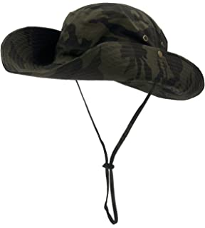 Roffatide UPF50+ Camouflage Foldable Boonie Fishing Bucket Hat Sun Cap 8  Colors a6348756451b