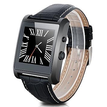 Diggro LF06 - Ajustable Smartwatch Reloj de Pulsera Bluetooth (HD IPS 1.54, Impermeable, Camara, Podometro, Monotor de Sueño, Anti-Perdida) (Negro)