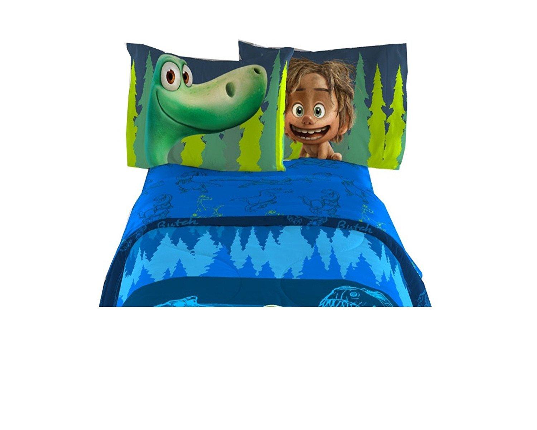 Good Dinosaur Disney Pixar Kids Movie Twin Sheet 3 Pcs Set 66'' x 96''
