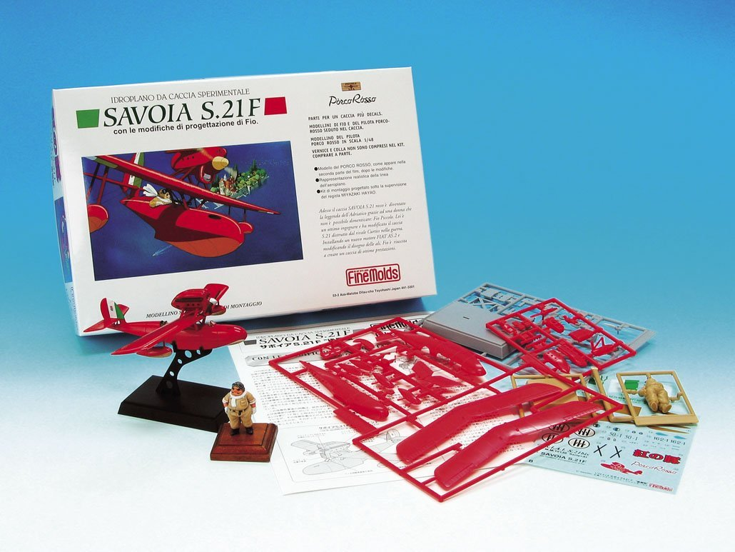 Savoia S 21 F Late Production Porco Rosso 1//72 by Fine Molds