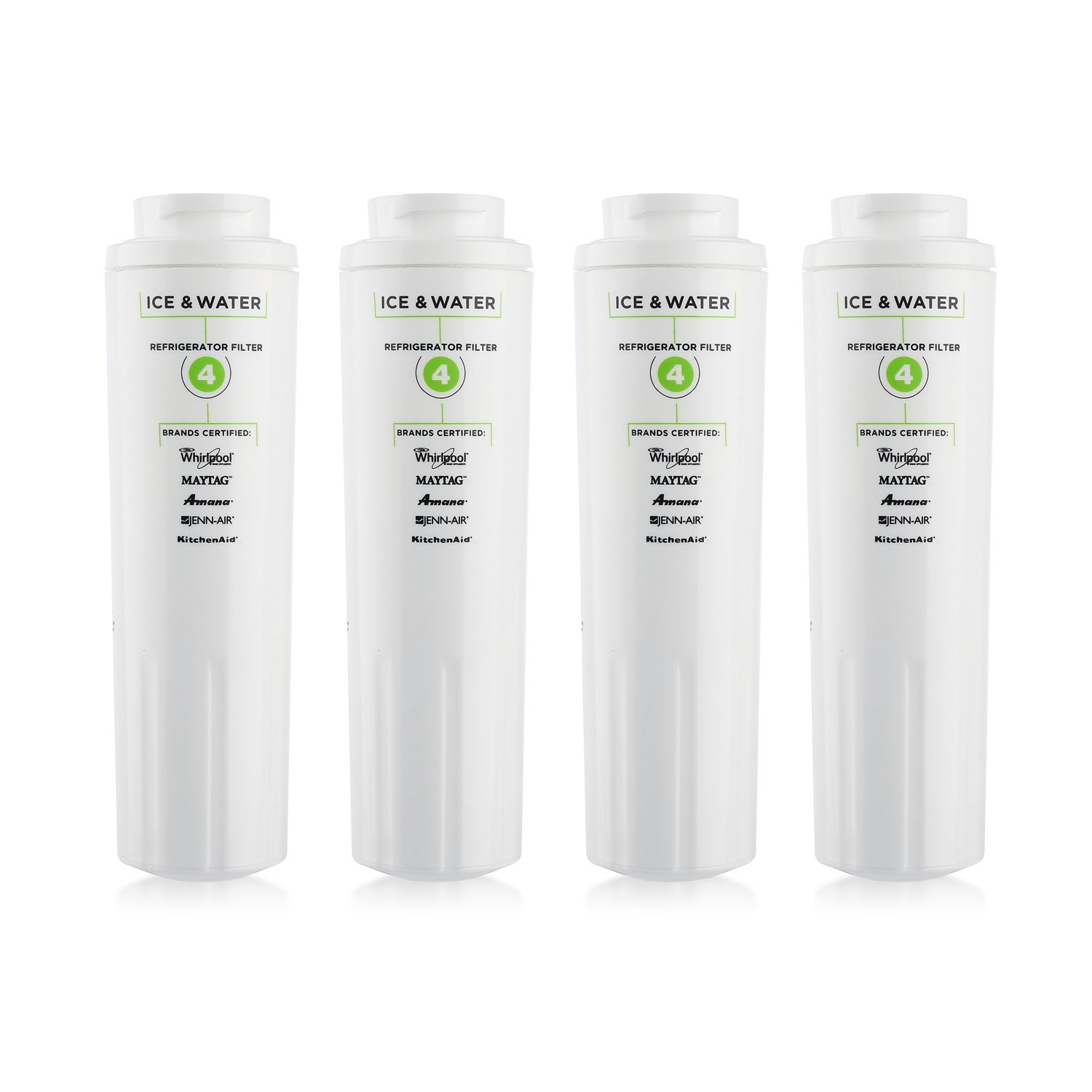 4 Count Refrigerator Water Filters 4 4396-/395 Replacement Water Filter for Kenmore 9084