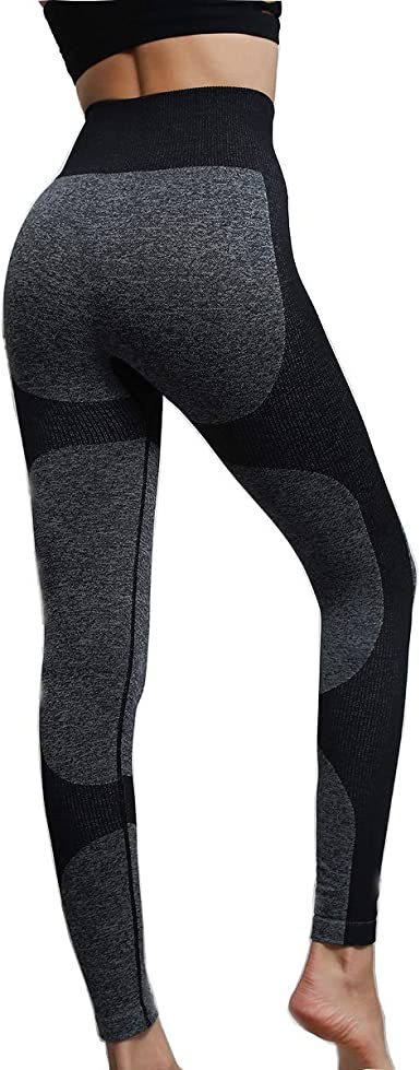 Women Bronzing High Waist Yoga Leggings Lightweight Sport Running Pants Trousers