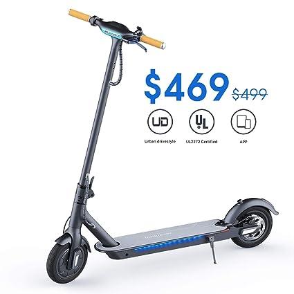 Amazon.com: TOMOLOO Patinete eléctrico para adultos ...