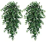 """51"""" Ivy Artificial Hanging Greenery Bushes, with No Pot, (Pack of 2)"""