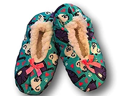 1a07657298d Fuzzy Babba Slippers (S M Shoe Size 8-13