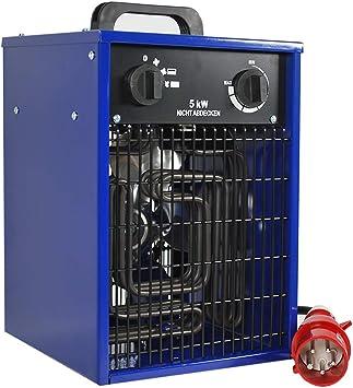 Heater 5 KW 400v Electric Heater bautrockner Fan Heater Blower bauheizer