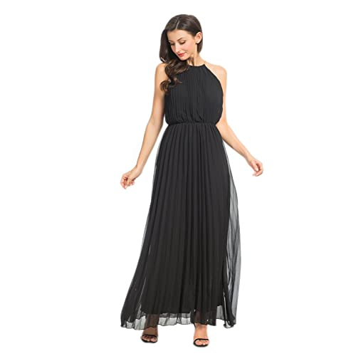 Black Pleated Dresses