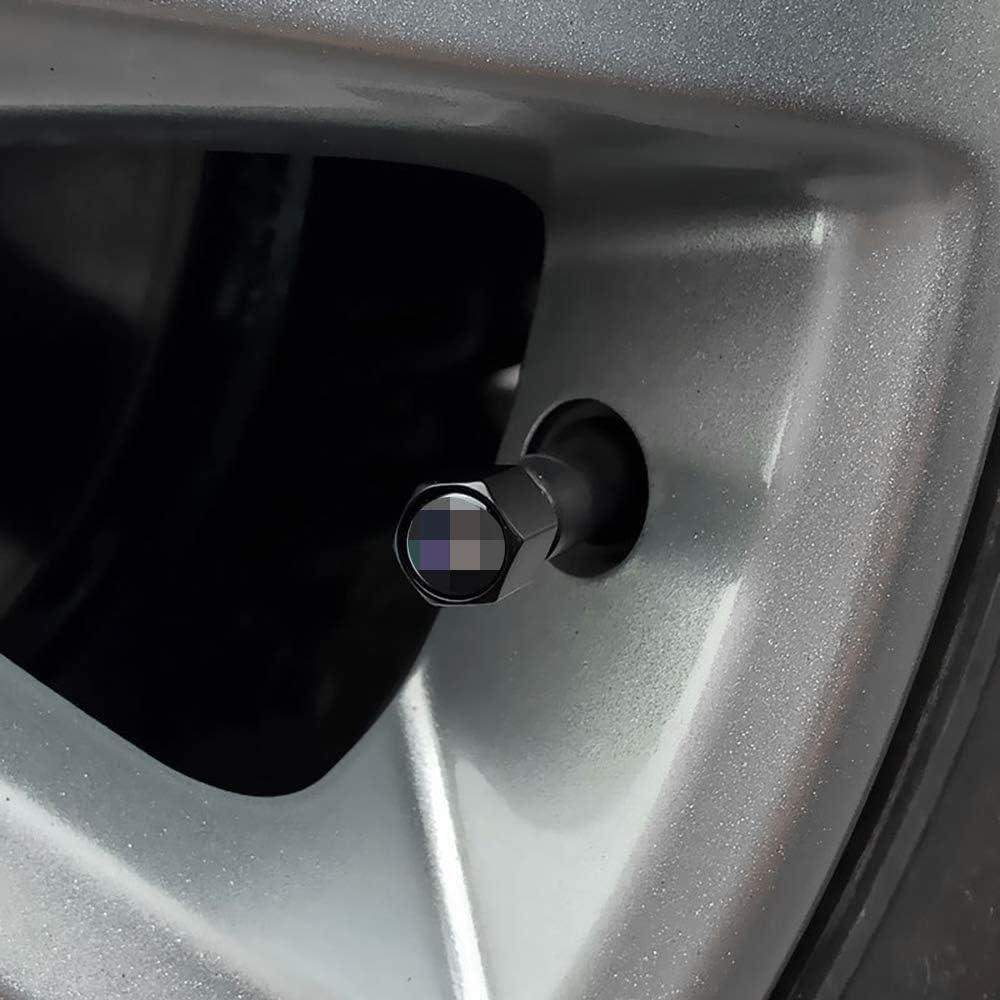 Capuchon De Valve en Aluminium Anti-Poussi/èRe avec Joint Torique Sceau Accessoires De D/éCoration TDDRW 4 Bouchons Valve De Pneu pour Corvette C5 C7 Z06 C8 C6-R//Grand Sport