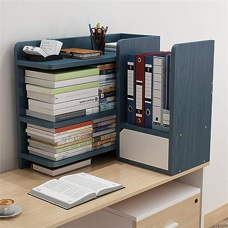 Artículos de escritorio organizadores titular de escritorio del archivo de escritorio de madera Estantería de almacenamiento Organizador de escritorio de oficina estante de exhibición del estante Arch: Amazon.es: Hogar