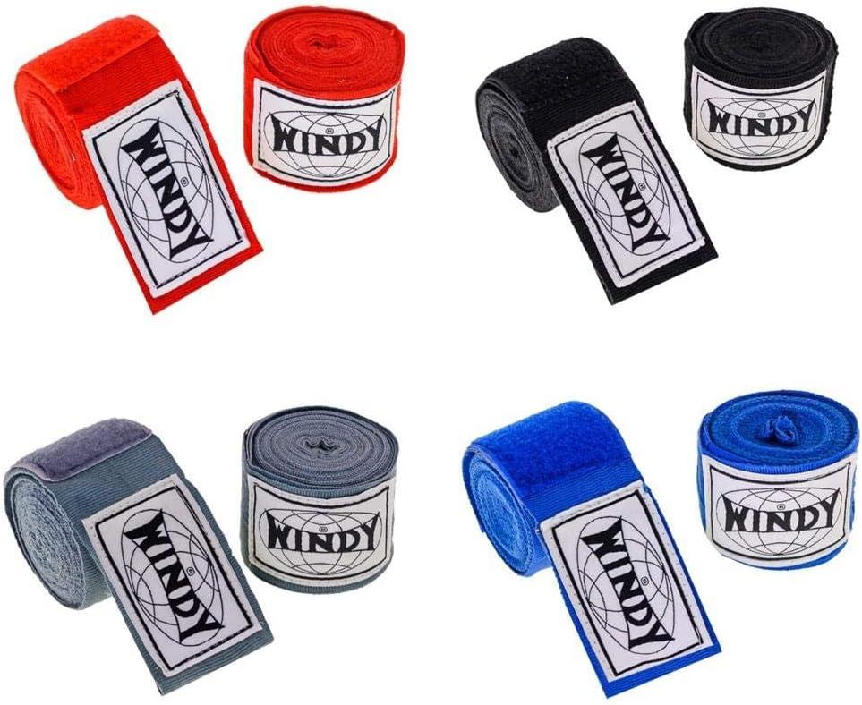 WINDY Boxbandagen MMA Handbandagen Muay Thai Stretch Handbandagen 4,5 m 450 cm Bandagen