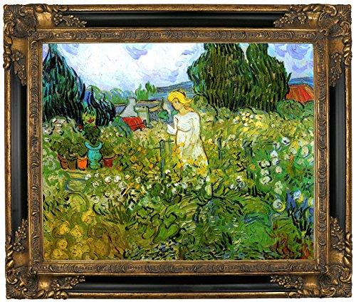 - Historic Art Gallery Marguerite Gachet in the Garden by Vincent Van Gogh Framed Canvas Print, 16